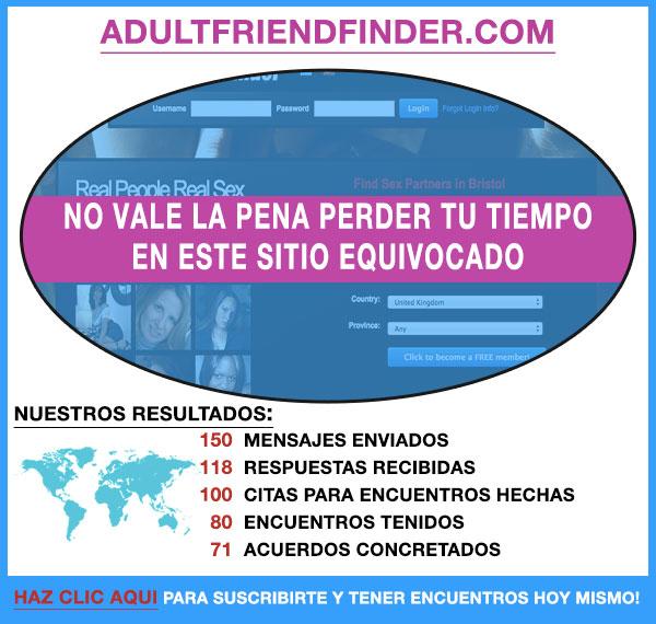 Demostracion de AdultFriendFinder.com