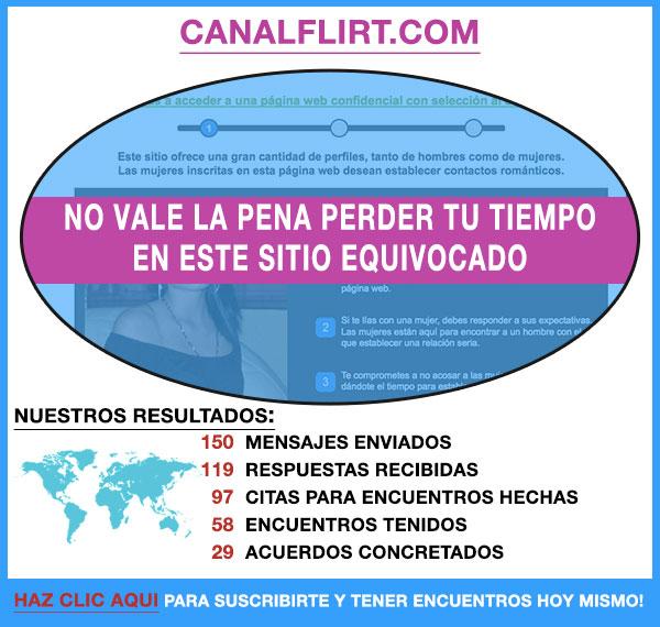 Demostracion de CanalFlirt.com