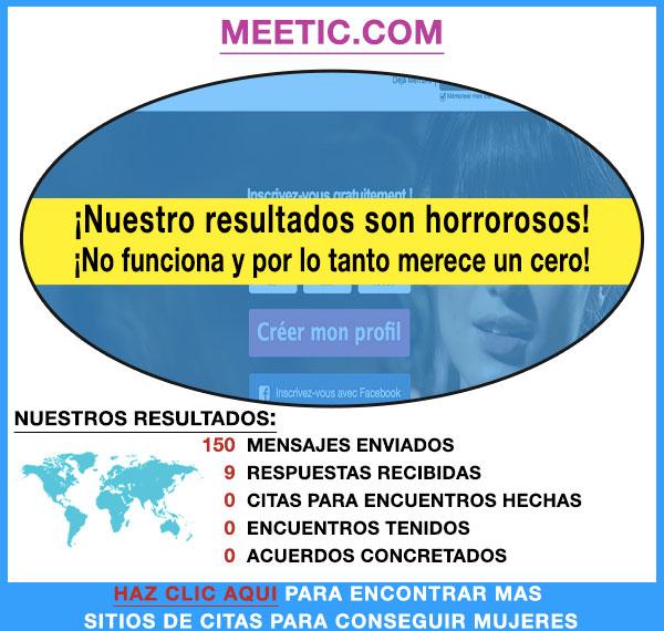 Demostracion de Meetic.com